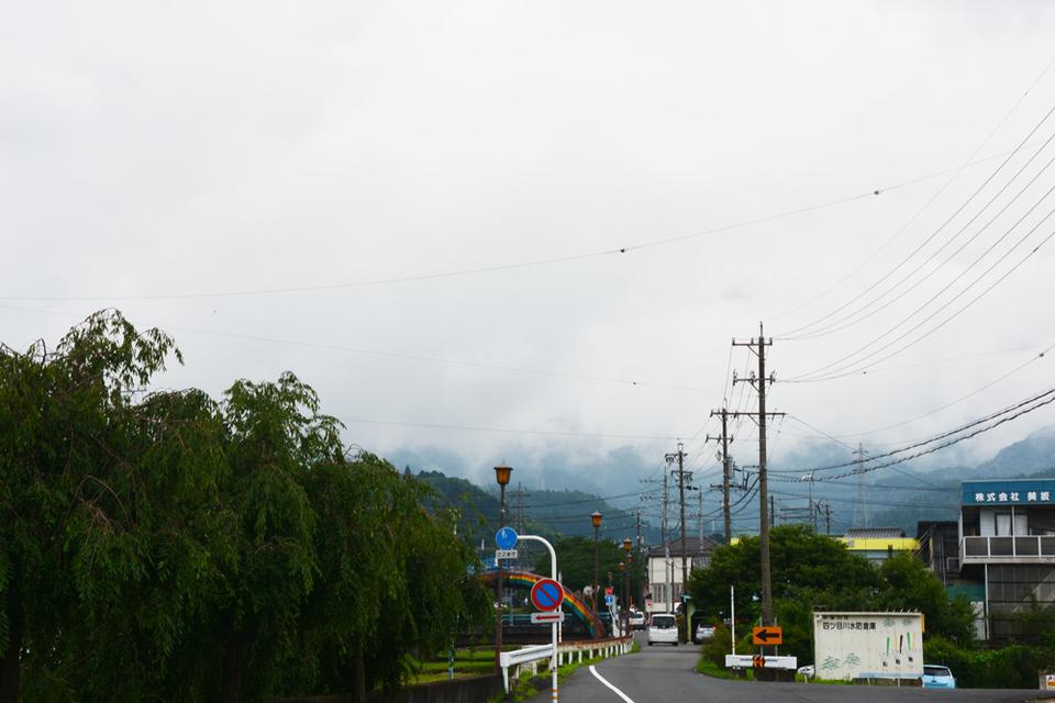今日も一面の雲