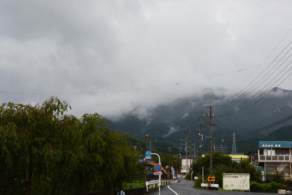 台風の影響?! border=