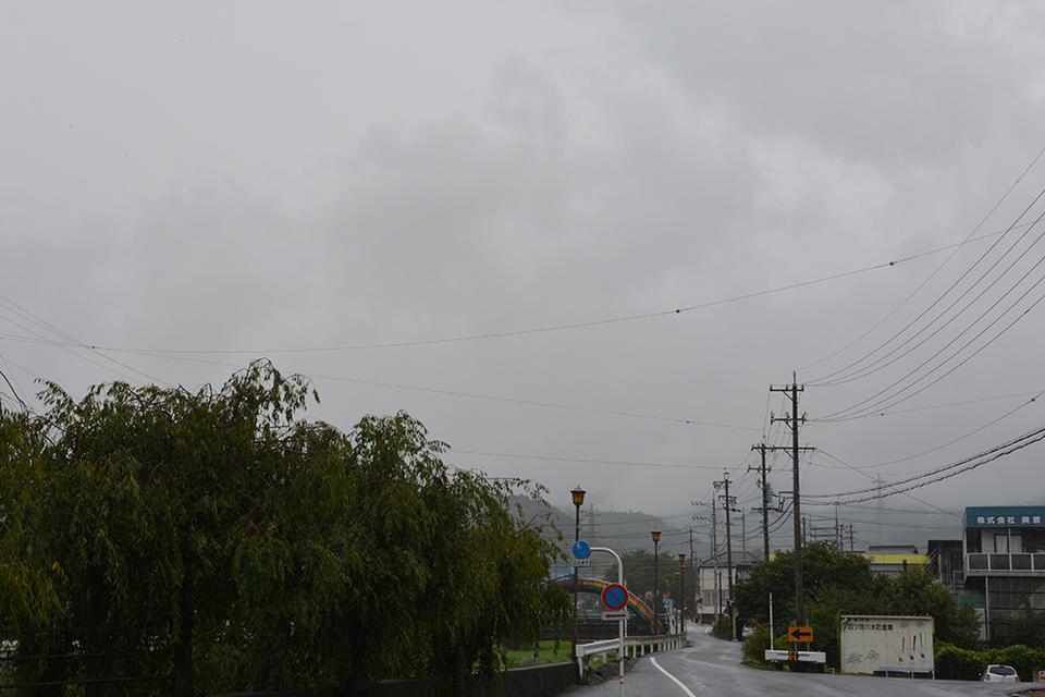 今日も不安定な天気です border=