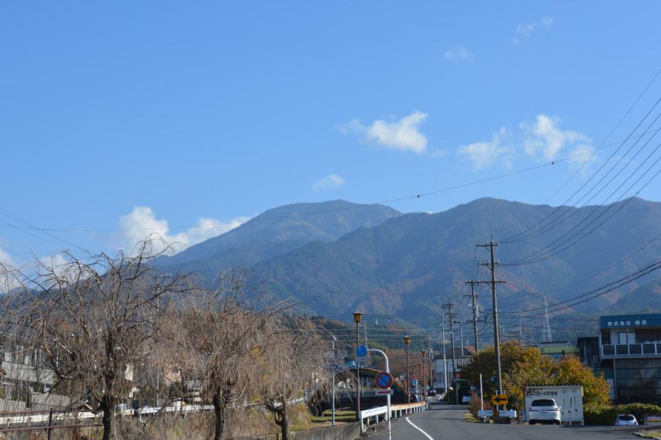 恵那山と恵那神社