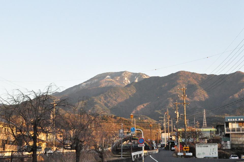 17時の恵那山