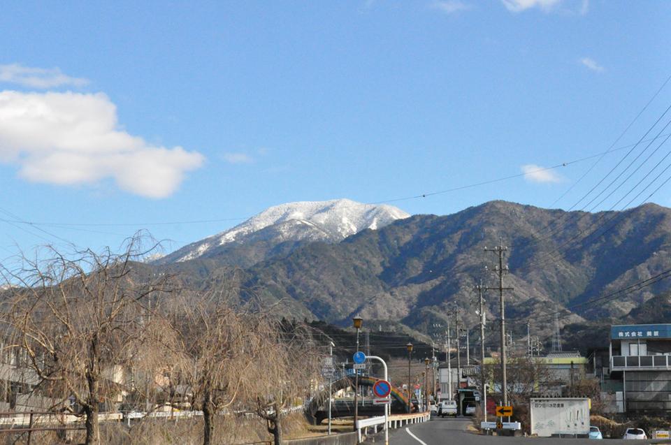 とっても寒い日の恵那山