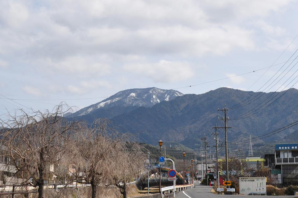 3月はじめの恵那山