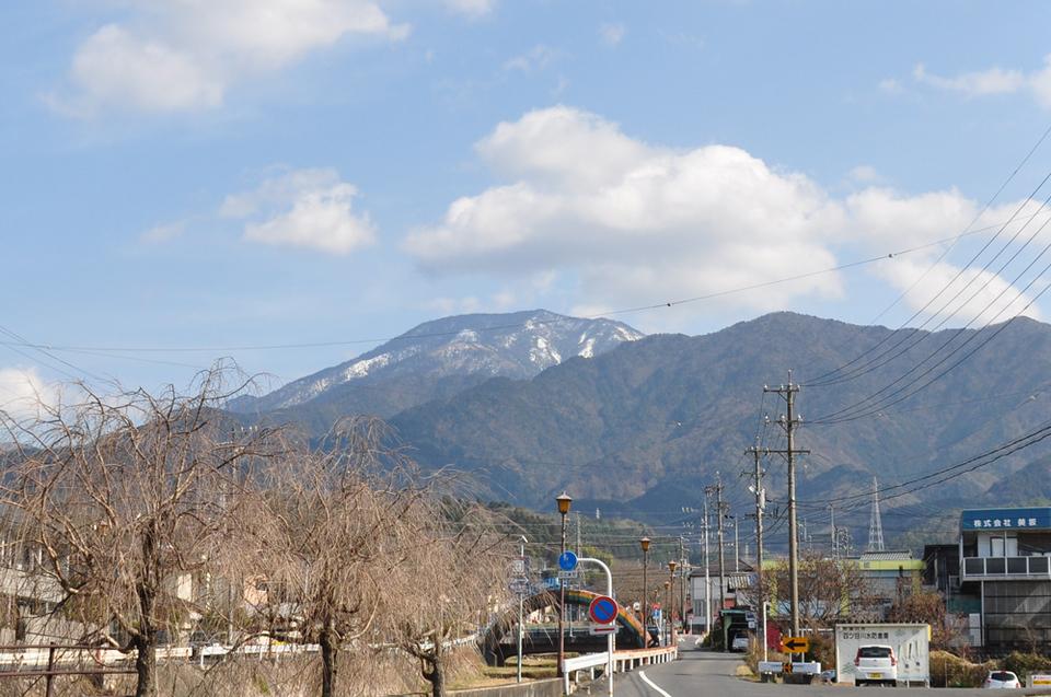 今日も恵那山はきれいに見えます!