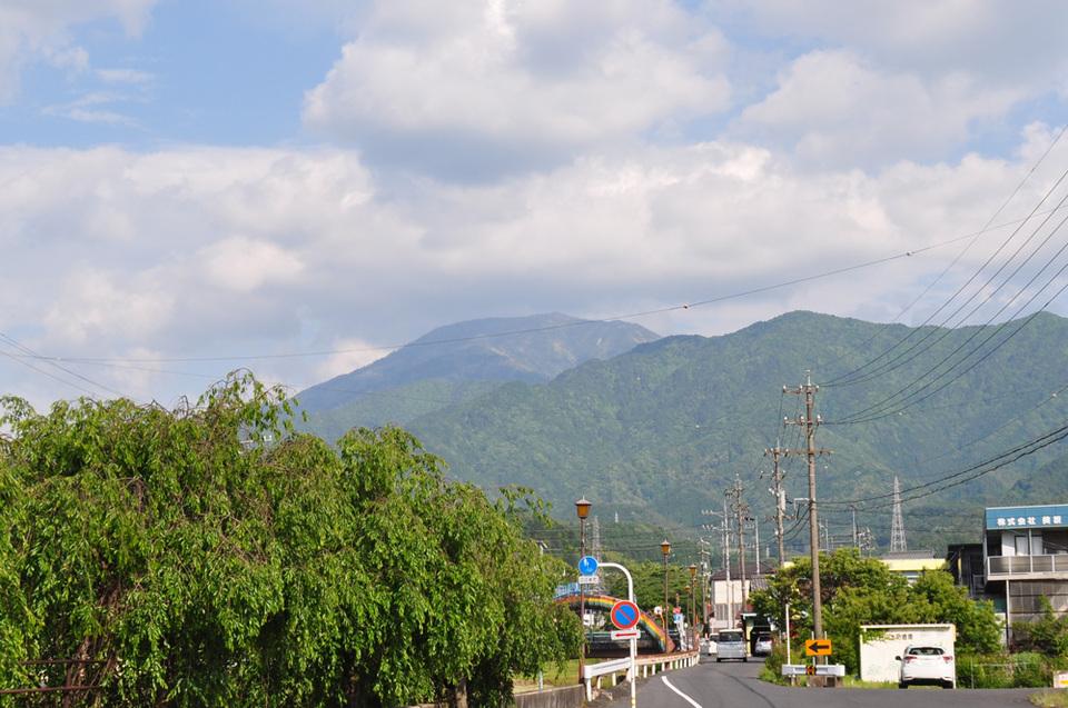 5月最後の恵那山