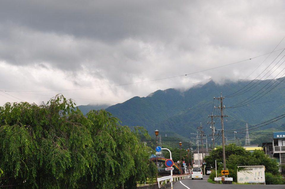 6月最後の恵那山