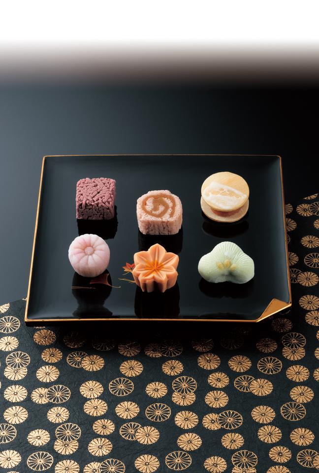 【にぎわい特産館 和宮道中御菓子】姫様がお召し上がりになったお菓子、中津川で販売。