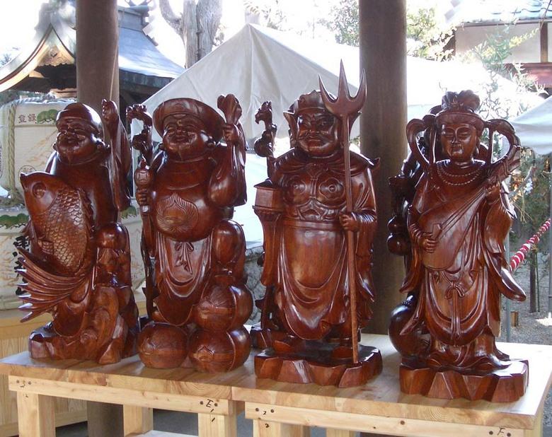 【東濃一社 中津川西宮神社】七つの幸せが舞い込む 中津川七福神めぐり