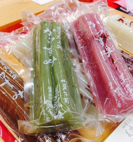 【知る人ぞ知る中津川銘菓】 からすみ   親の願いがギュッと詰まった米粉のお菓子です。 border=