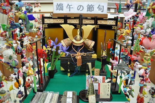 【にぎわい特産館】ただいま端午の節句フェア開催中。中津川の名店のお菓子でお祝いしましょう。 border=