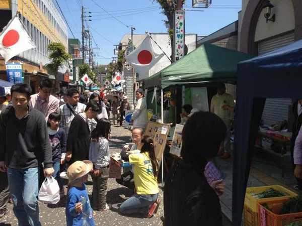 【春の中山道六斎市まつり】新町から中津川までエリア拡大。本町通りも生まれ変わりました。 border=