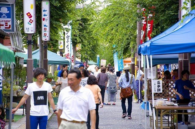 【7月の六斎市】パパもママも張り切っちゃうイベントいっぱい六斎市!