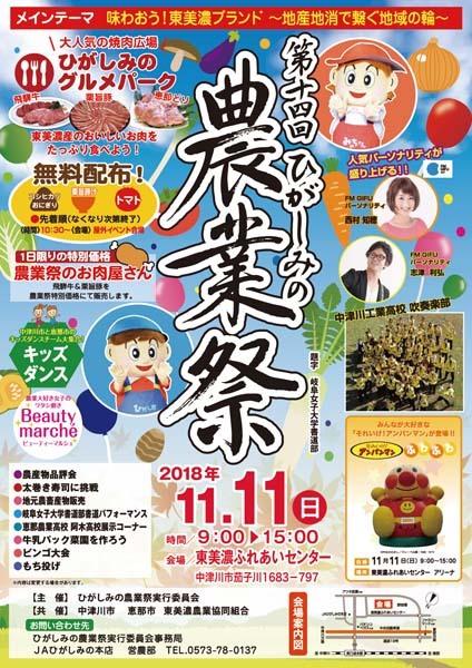 第14回ひがしみの農業祭