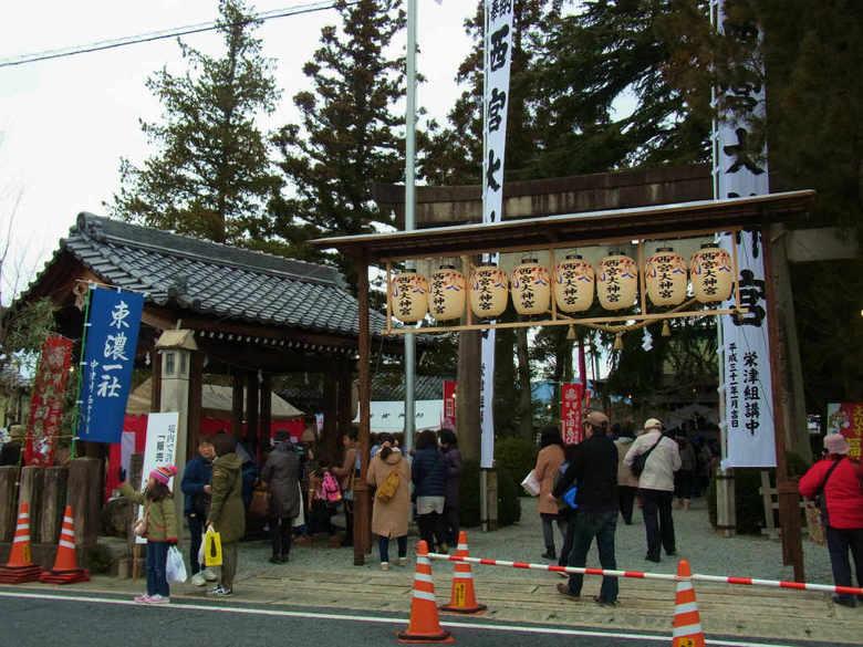 東濃一社 西宮神社「十日えびす大祭」及び 「十日市」の中止のお知らせ