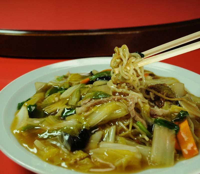 【おいしいお昼ごはん チャイニーズレストラン 勝宗】こだわりは自家製麺。中津川の中華の老舗。 border=