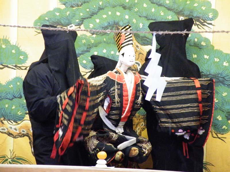 300年前から続く、山里の伝統芸能 恵那文楽。 border=