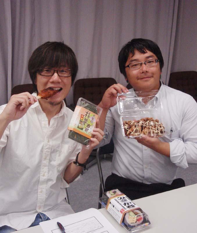 中津川の味「地産地消太巻三兄弟」。にぎわい特産館で人気です。 border=