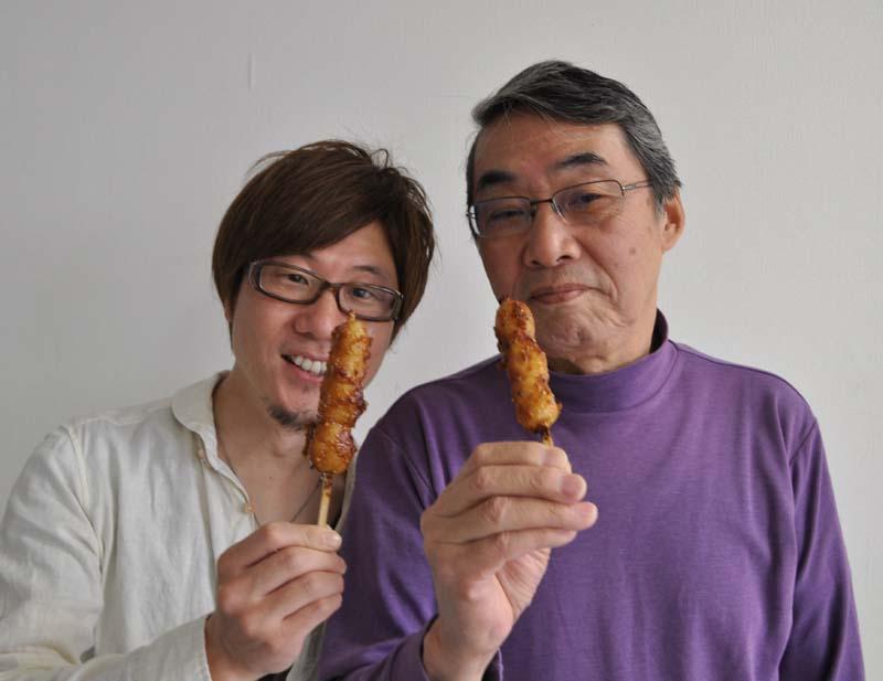 5月23日のてくてく中津川は・・・?「なかつがわ うまいものめぐり 第2弾!」中津川と言ったら、これでしょ!おふくろの五平餅。