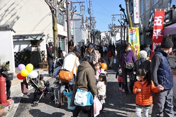 1月30日のてくてく中津川は...?2月2日は六斎市!チラシのイラストマップを見ながら中津川のまちを歩いてみよう!! border=